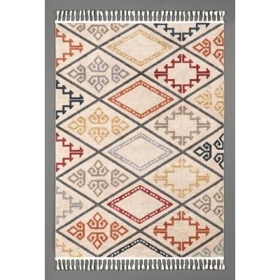 KILIM Tapis ethnique multicolore 160 x 230 cm