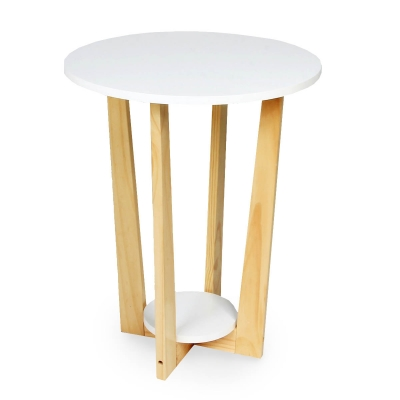 KOTON - Table ronde d\'appoint scandinave TALCA Blanche