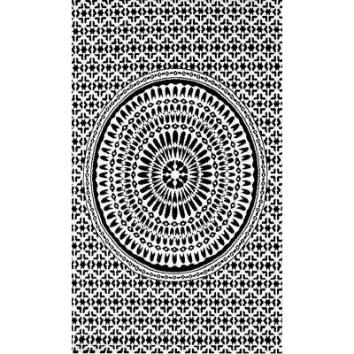 Koton Tapis Iswik 302 Noir 160x230cm