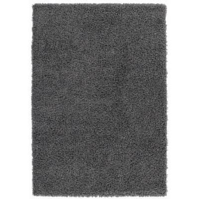 koton tapis shaggy uni soft anthracite 60x110cm - Tapis Shaggy