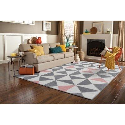 koton tapis de salon scandinave forsa rose pastel 120x160cm. Black Bedroom Furniture Sets. Home Design Ideas
