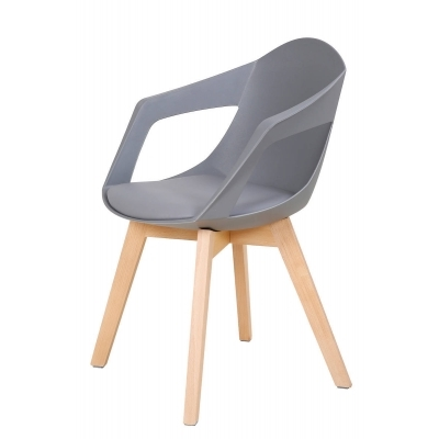 grises chaises contemporaines contemporaines CHANDRA CHANDRA 2 chaises 2 PXiwOuZkT