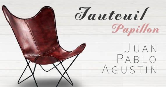 Fauteuil Papillon